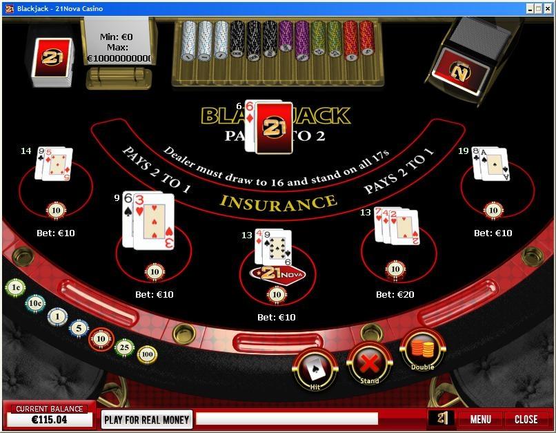 21nova Blackjack